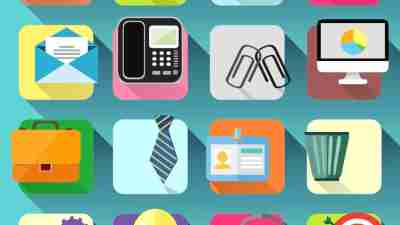 An illustration of ADHD apps to help with time management