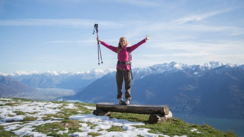 A woman with ADHD overcomes her learning disability and climbs mountains