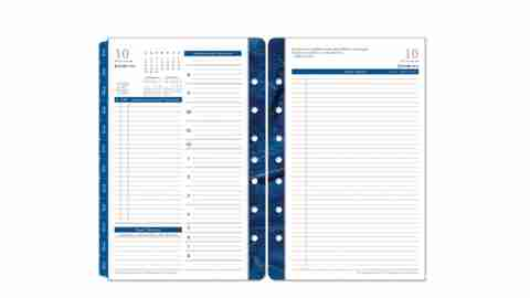 Writing things down in a planner helps people with ADHD remember dates and appointments.