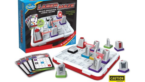LazerMaze is a great gift for kids with ADHD.