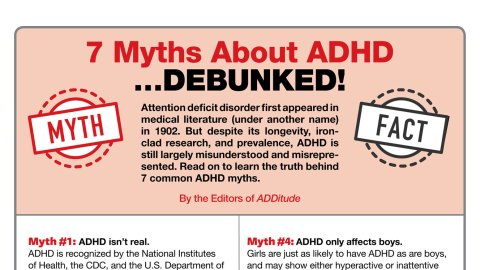 Just How Common Is Adhd Really New >> Facts About Adhd Debunking Too Common Myths