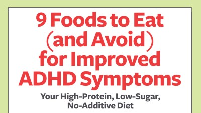 Your high-protein, low-sugar, no-additive diet