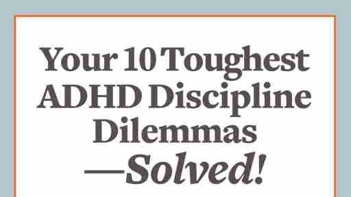 How to discipline your child with ADHD
