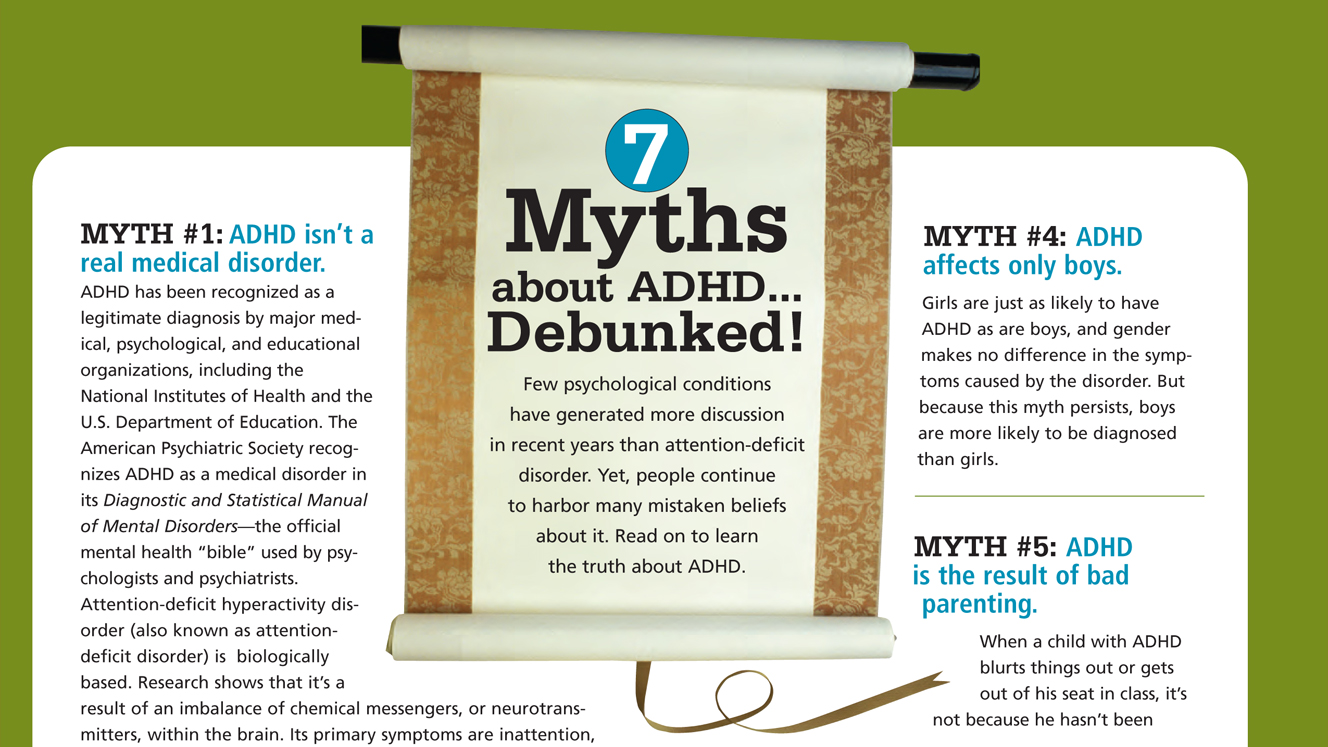 Facts About ADHD: Debunking (Too) Common Myths
