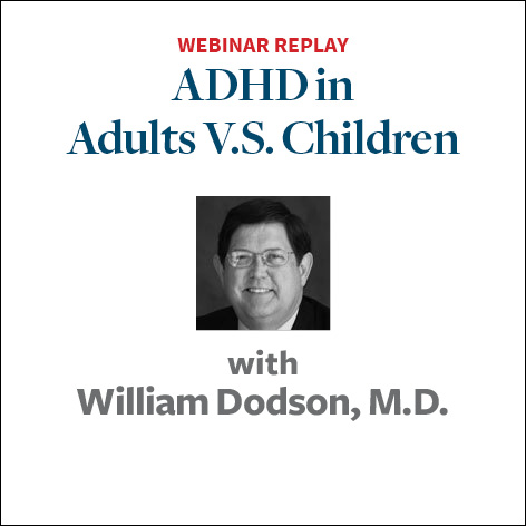 ADHD in Adults vs Children