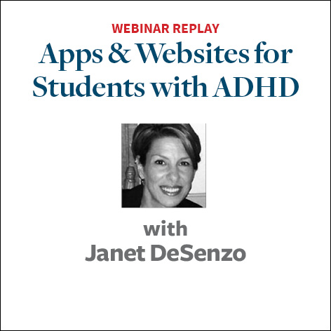 Apps and Websites for Students with ADHD