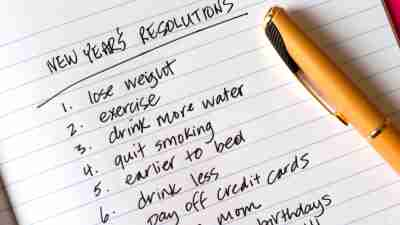New Year's Resolutions for ADHDers