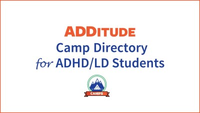 ADDitude ADHD Camp directory