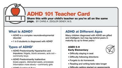 ADHD symptoms: How Teachers Can Identify ADHD in Children