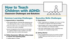 ADHD Strategies for Teachers: Guide to Classroom Problem Solving