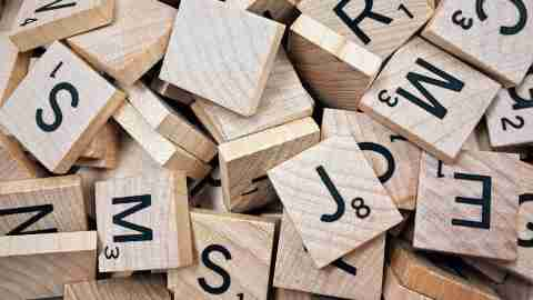 Jumbled letters is one of the signs of dyslexia