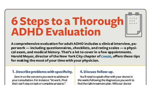 6 Steps to a Thorough ADHD Evaluation featured