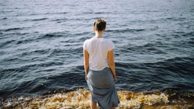 adhd mom looking at endless ocean
