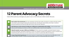 12 Parent Advocacy Secrets: A Free Guide