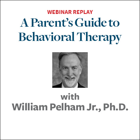 a parents guide to behavioral therapy