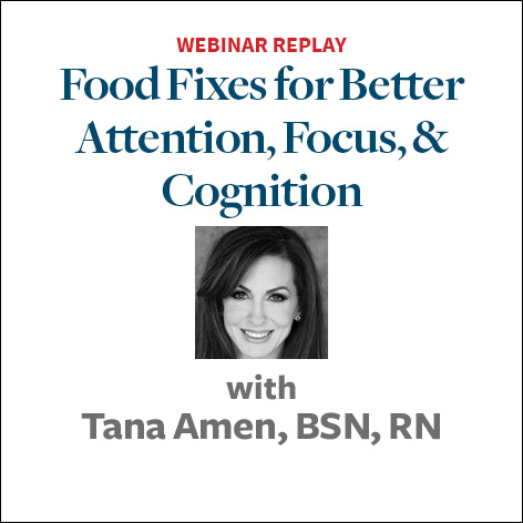 food fixes for attention focus cognition