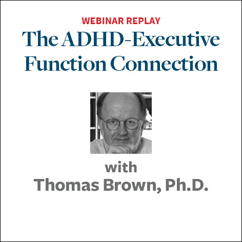 the adhd executive function connection