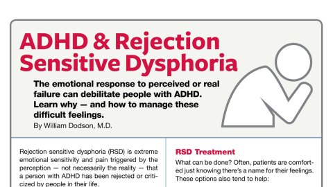 Adhd And Sad Treatment And Symptoms >> Rejection Sensitive Dysphoria With Adhd Symptoms Treatment Options