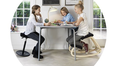 Varier seats for fidgety kids with ADHD