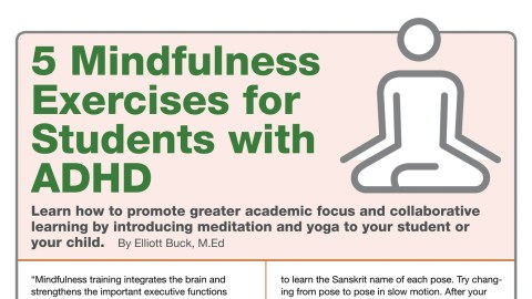 Mindfulness Techniques for Stronger School Focus