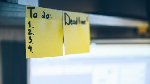 To-do list for someone wondering why they can't focus