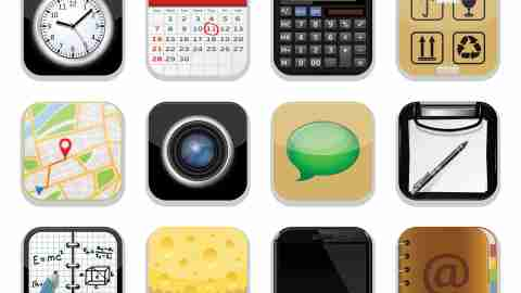 Icons of some of the best productivity apps for ADHD adults