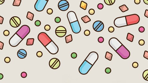 An illustration of ADHD medications