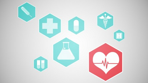 Medical icons and illustrations of ADHD medications