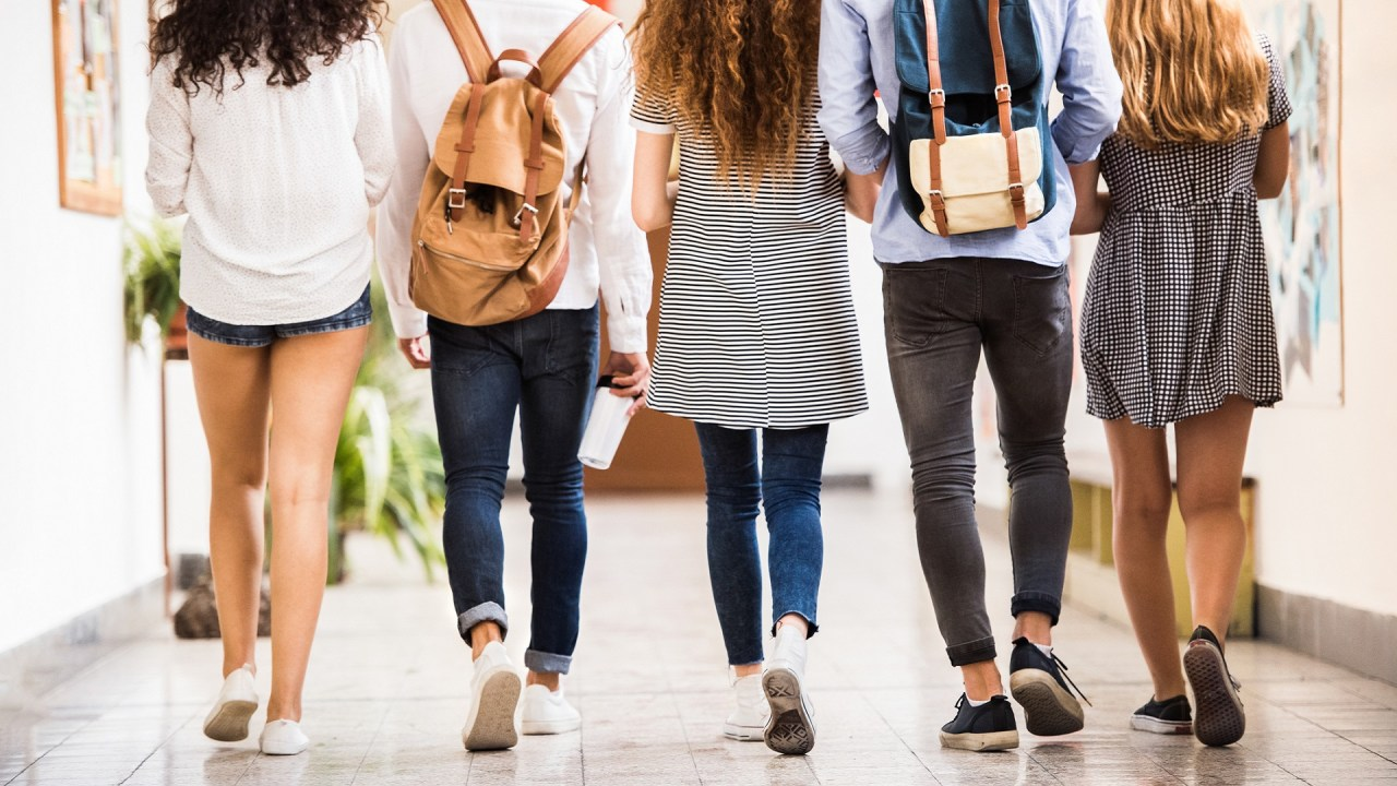 A group of high school students go to an IEP meeting