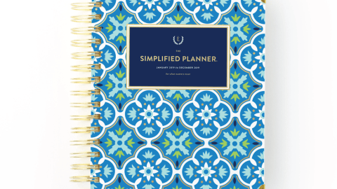 Simplified Planner for ADHD time management and organization