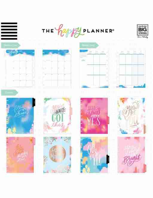 the happy planner for adhd time management and organization