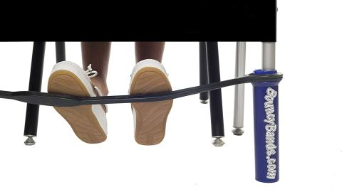 bouncy bands help school productivity for restless students