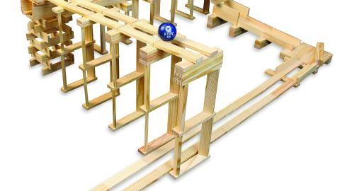 MindWare KEVA Contraptions 400 Plank Set