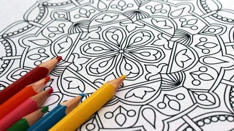 Sacred Circles Mandala Coloring Book: Art Therapy Coloring Book