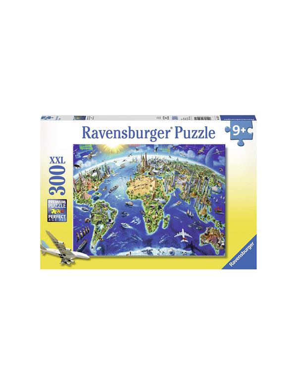 world puzzle
