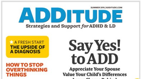 ADHD Test: ADD Symptoms and Signs in Adults