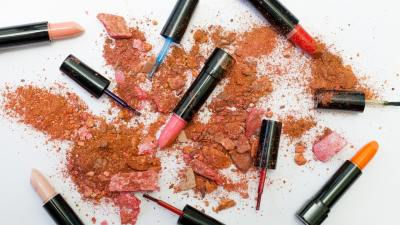 Cosmetics and makeup for a teen with ADHD