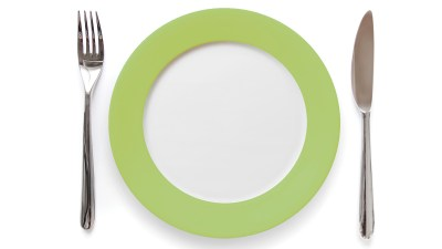 Eating Healthy to Help ADHD - Does it Work? Image of dinnerware.