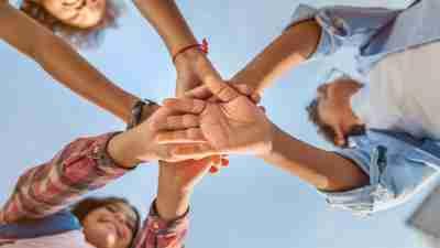Child, Multi-Ethnic Group, Smiling, Teamwork, Ethnicity