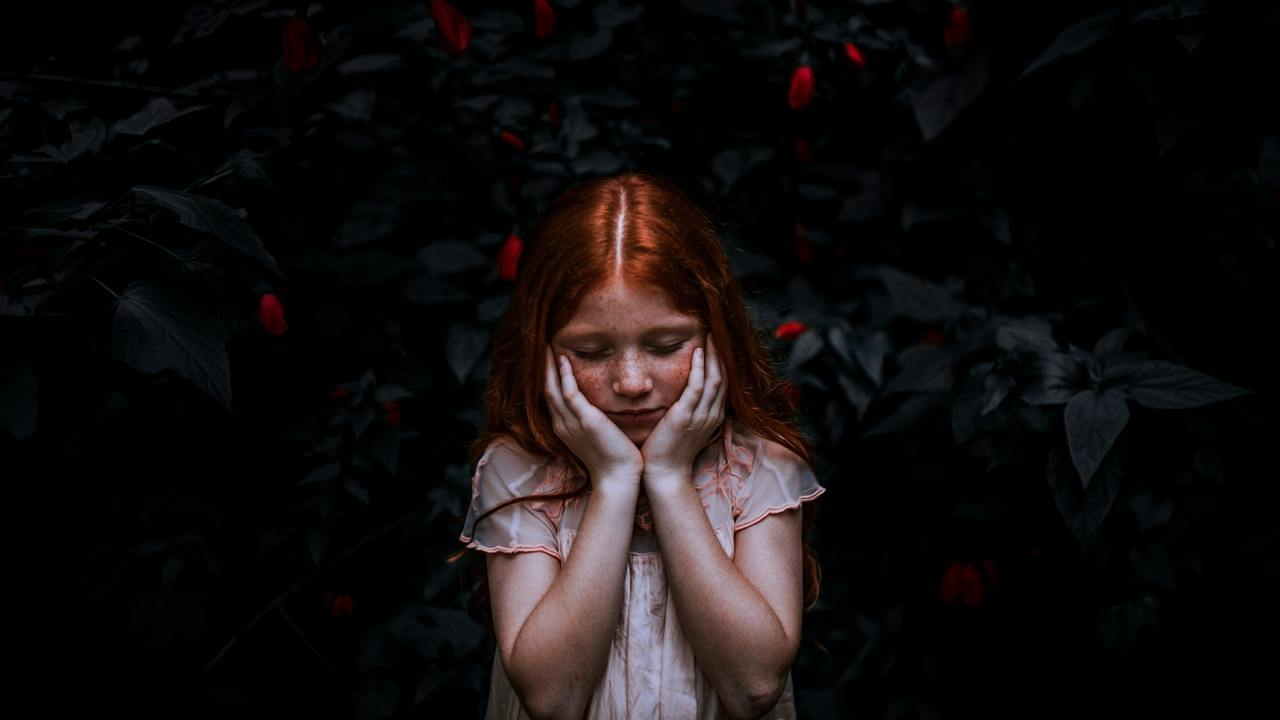 Bad behavior causes a girl with ADHD to feel sad