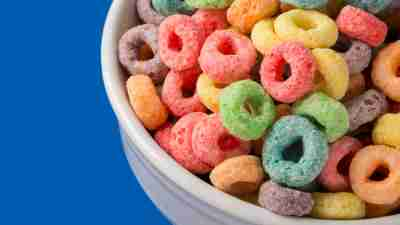 Foods with synthetic dyes, like this cereal, may have a negative effect on ADHD symptoms