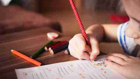 IEP test as part of a school evaluation for ADHD