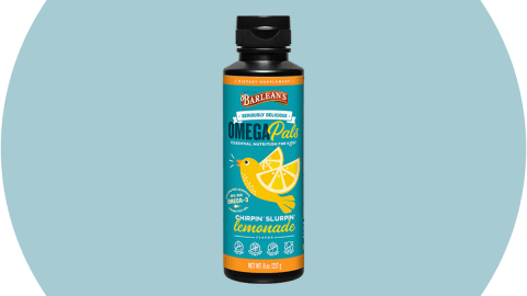 Barlean's Omega Pals Fish Oil, Lemonade