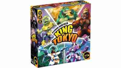King of Tokyo - Best Games for ADHD Teens