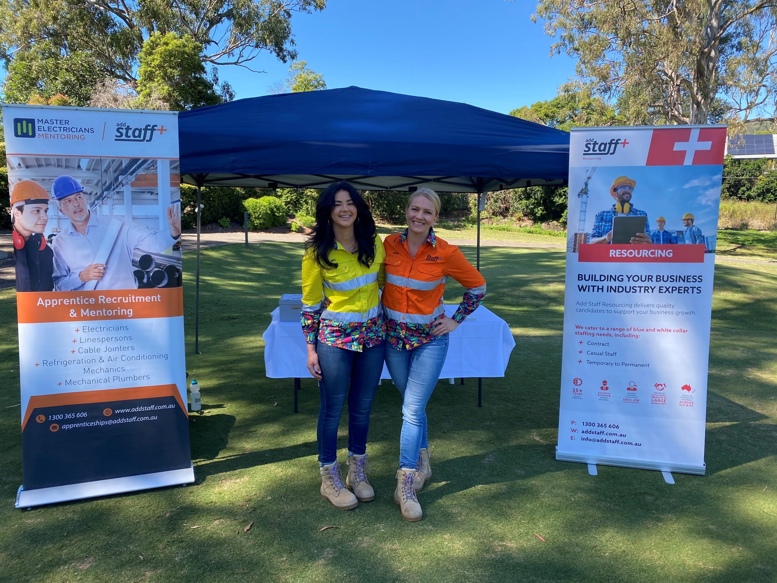 Add Staff Recruitment at Master Electricians Golf Day