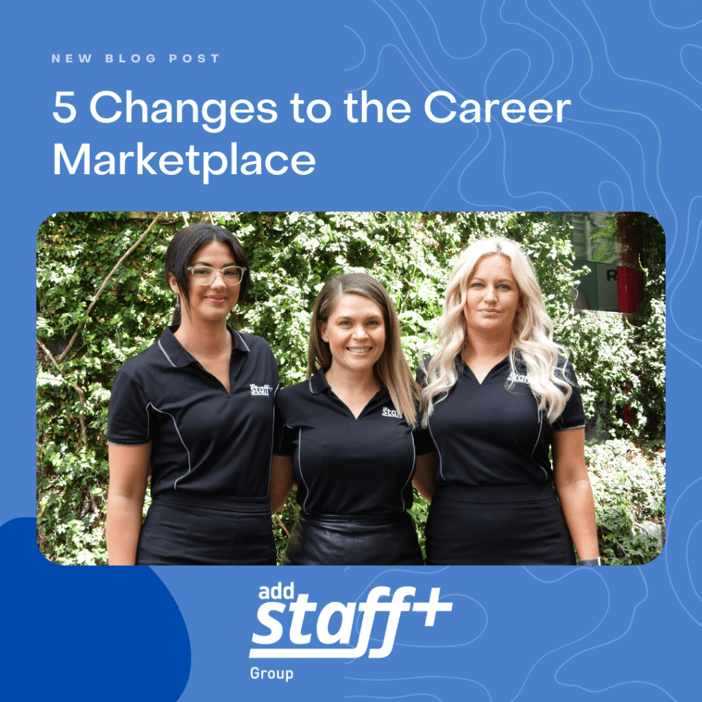 5 Changes to the Career Market Place
