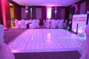 chair cover hire inverclyde reclining swivel dance floor in add to event wee tait