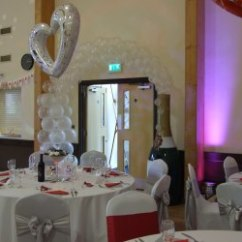 Chair Cover Hire Sussex Table And Set Outdoor Inflate 2 Create Covers West Foil Balloons Linen