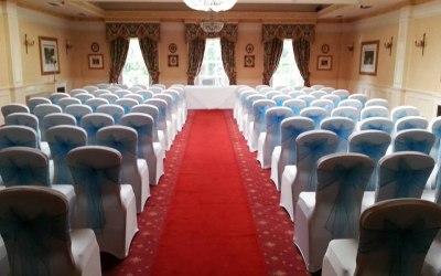 chair cover hire telford shropshire wicker chairs walmart covers