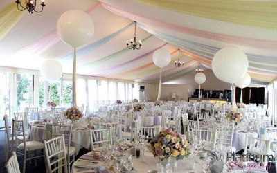 wedding chair covers hire hertfordshire workpro executive ace balloons and events event decoration balloon cover in bedfordshire london